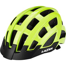 Lazer Compact Deluxe Helm gelb